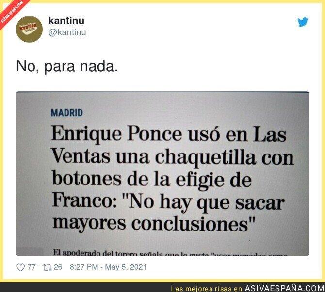 742462 - Tranquilo Enrique Ponce, no pensaremos mal