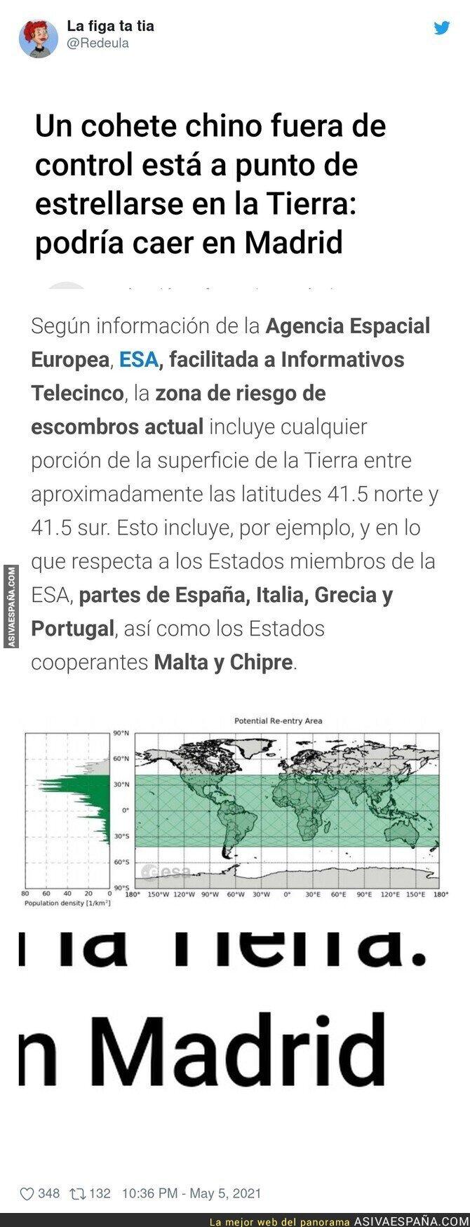 742963 - En Madrid se creen el centro del universo