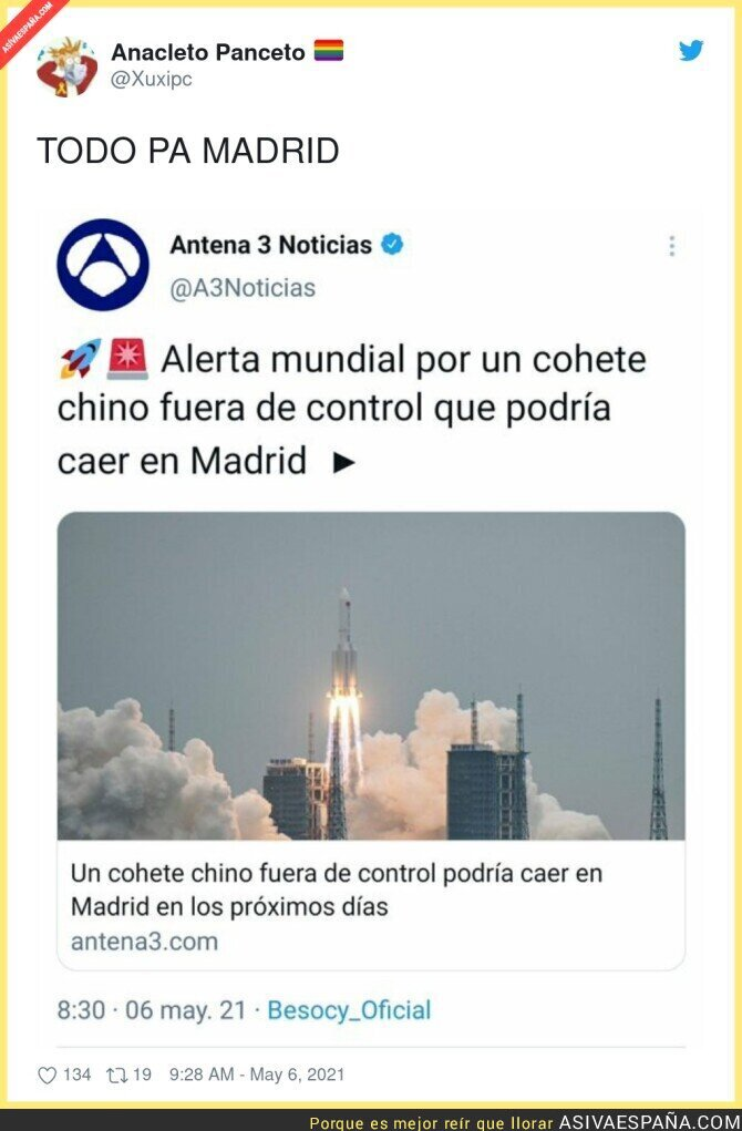 743211 - Madrid se cree más importante que nadie