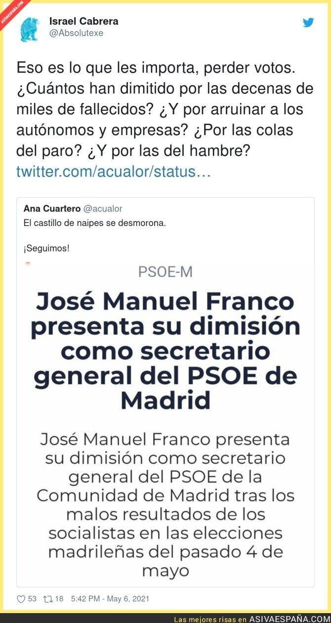 744687 - Empiezan las dimisiones en el PSOE