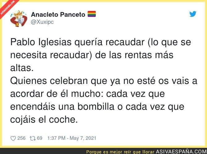 745426 - Lamentaremos la pérdida de Pablo Iglesias