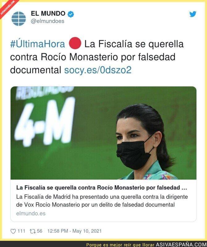 750262 - Rocío Monasterio no es de fiar