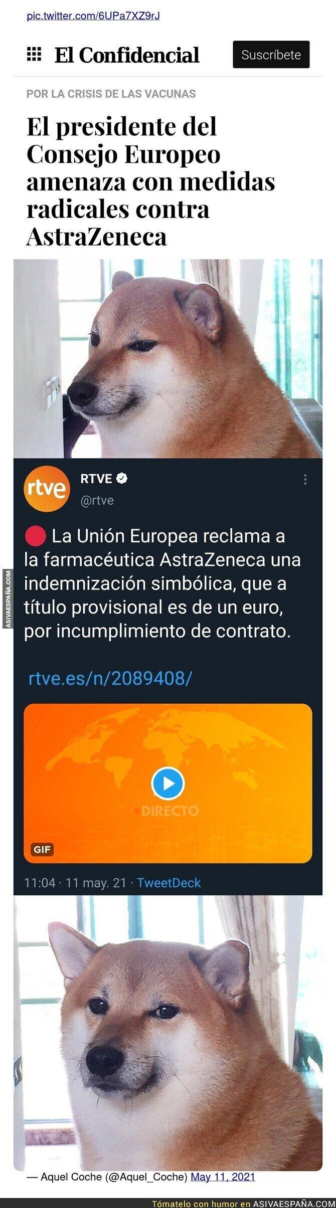 752583 - Vale, solo reclaman un euro pero lo hacen con la cara muy seria