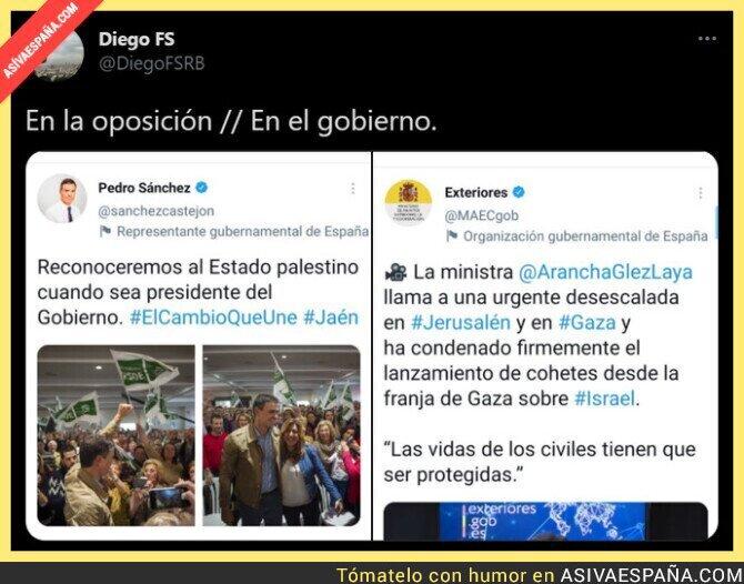 753209 - La doble cara de Pedro Sánchez