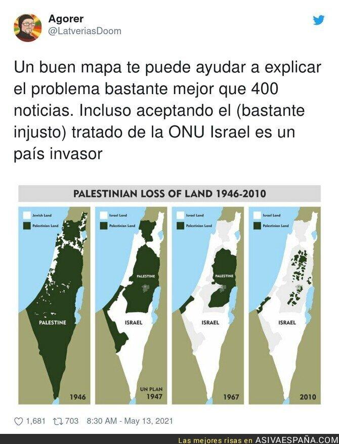 756104 - A esto se ha dedicado Israel desde su creación hace 73 años