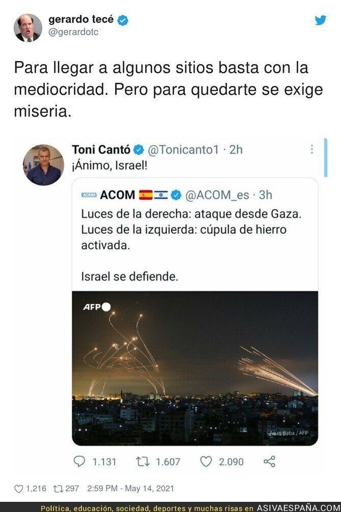 757531 - El nivel de Toni Cantó no puede ir a peor