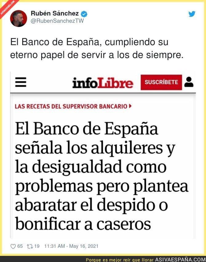 760660 - El Banco de España no soluciona nada