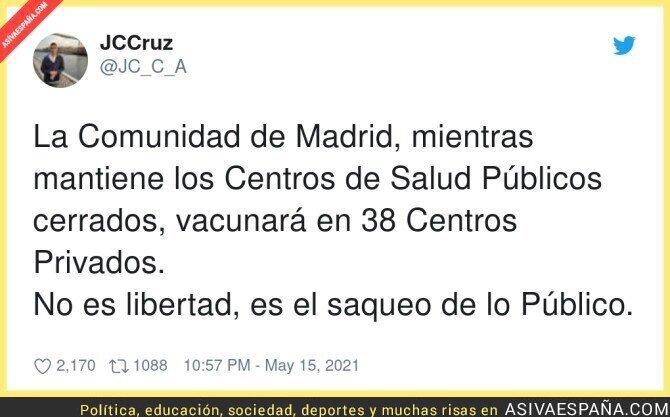 760708 - Lo que pasa en Madrid es increíble