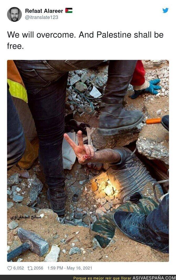 761854 - Tremendas las imágenes que llegan desde Gaza