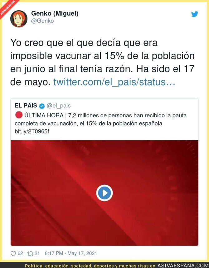 763150 - España está haciendo las cosas muy bien