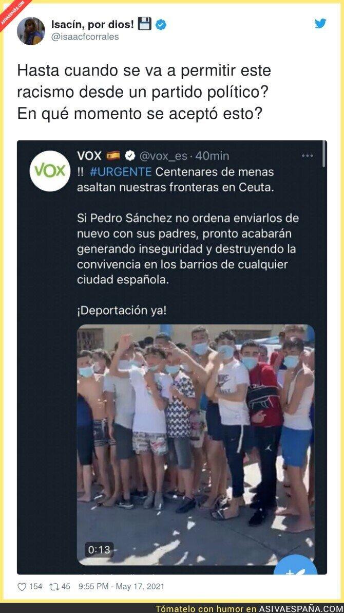 763243 - El odio que provoca VOX