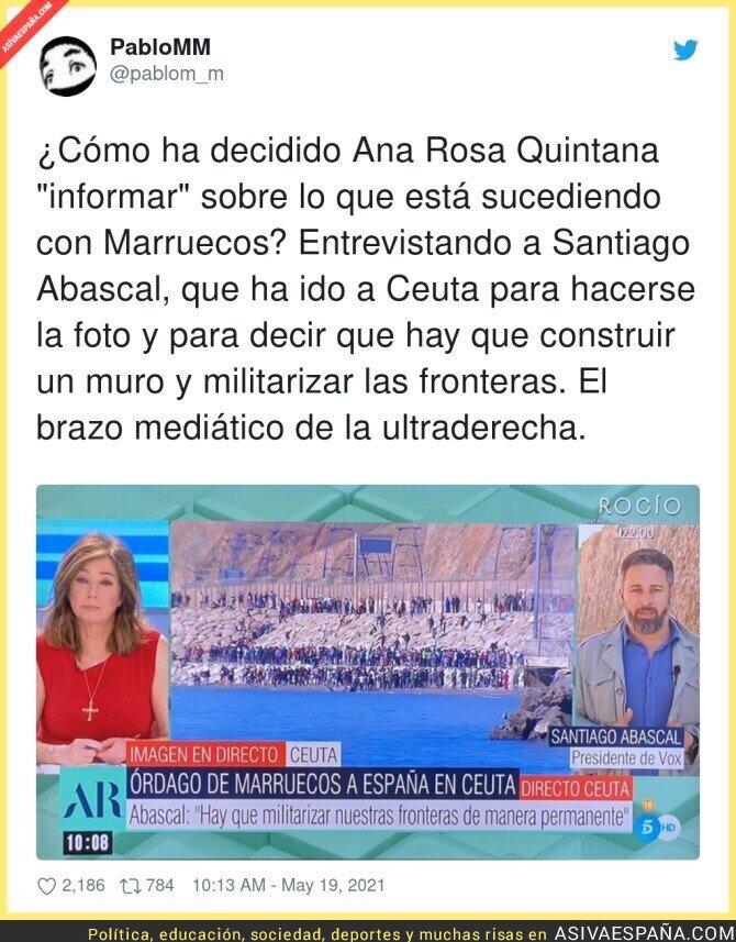 766287 - Ana Rosa ya ni disimula