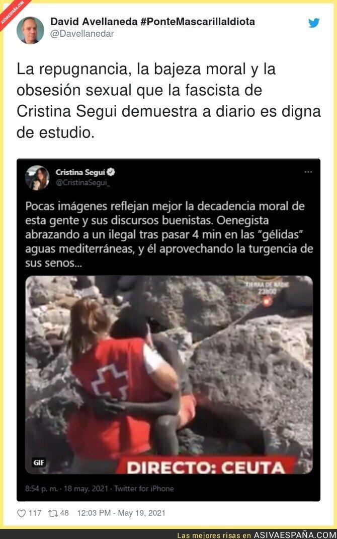 766462 - Cristina Seguí ha tocado fondo