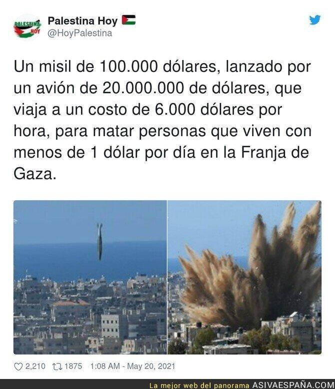 767741 - La terrible situación que se vive a diario en Palestina