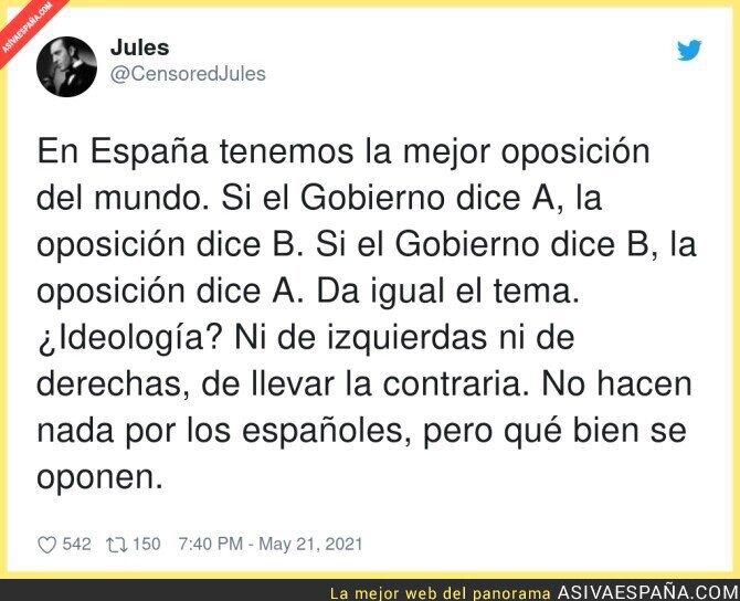 769870 - Así es la oposición en España