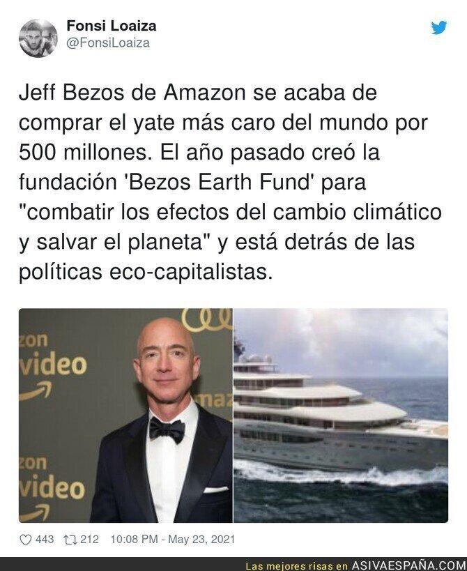 772736 - En esto consiste el imperialismo verde. Los grandes capitalistas en sus yates