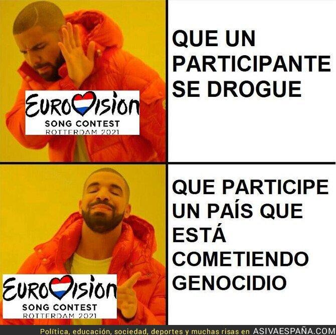 773207 - A Eurovisión parece que no le importa el genocidio Israelí
