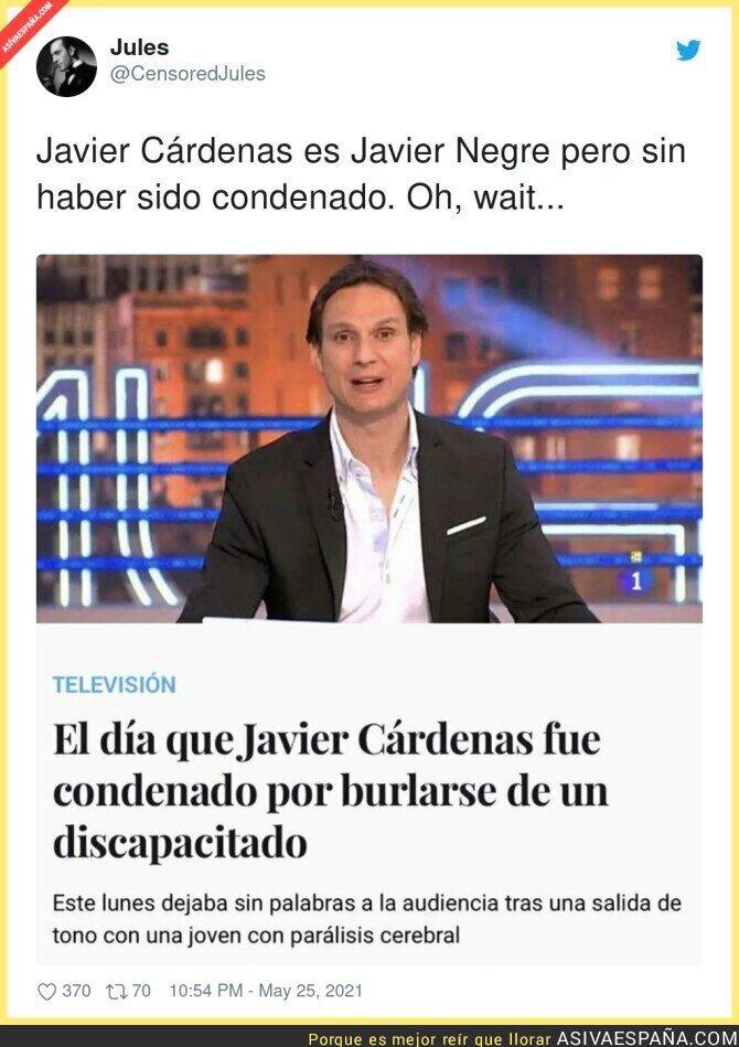 775857 - Javier Cárdenas debería llevar años sin tener hueco en ningún medio