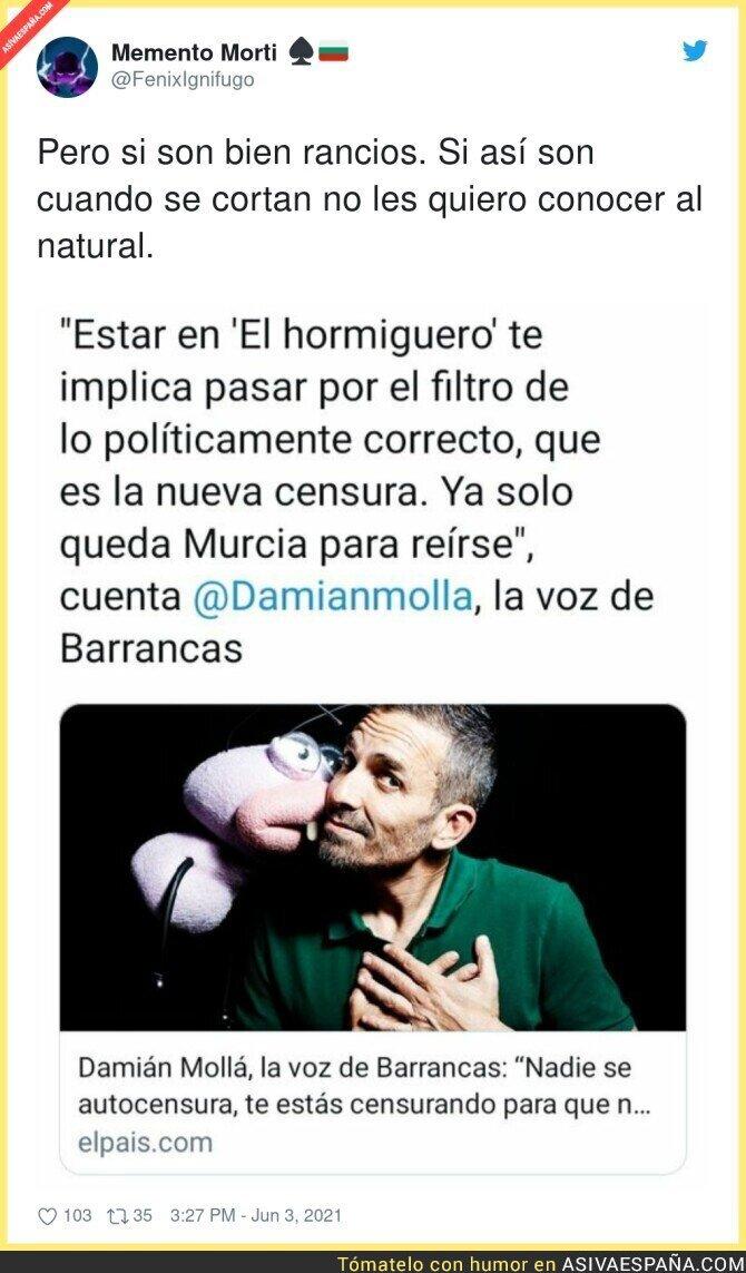 786732 - La voz de Barrancas no puede ser más cuñado