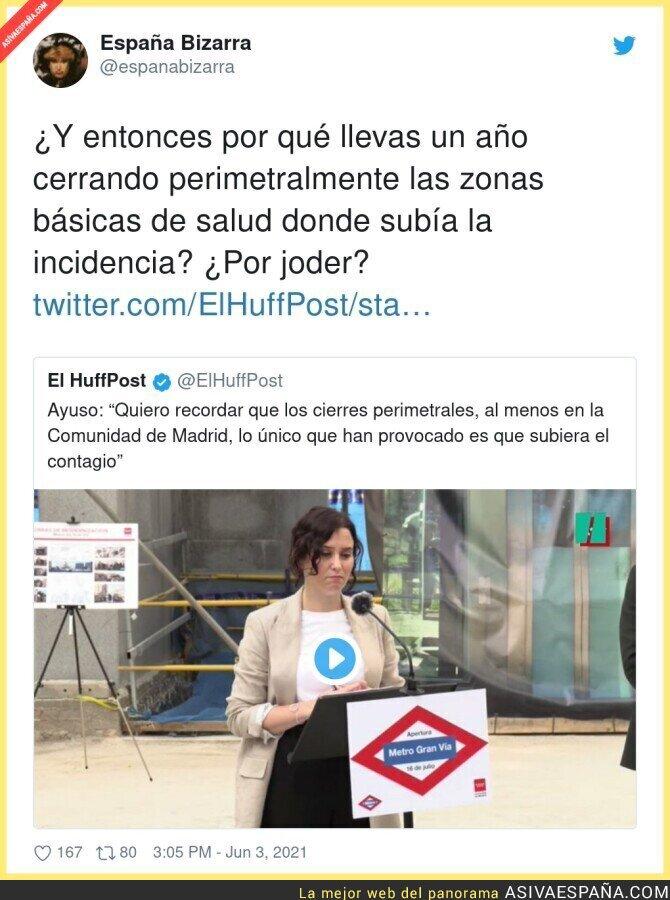 786735 - Isabel Díaz Ayuso se retrata ella misma