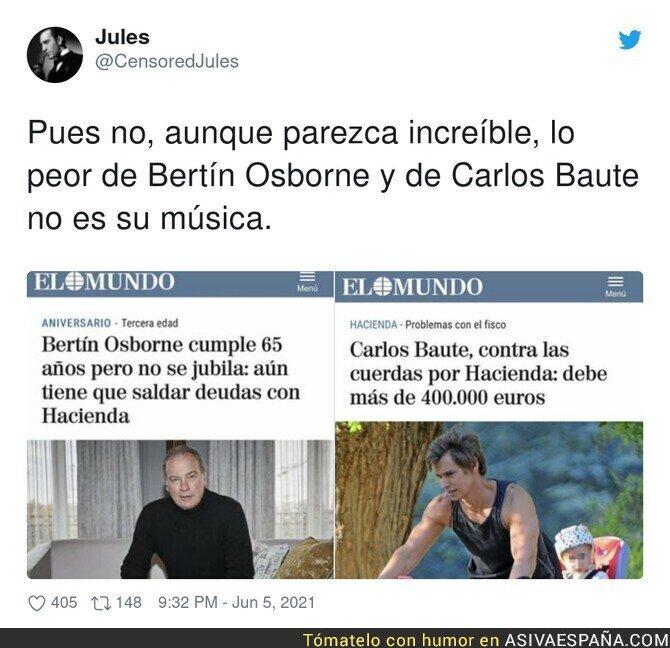 788540 - Carlos Baute y Bertín Osborne se unen para hacer una canción