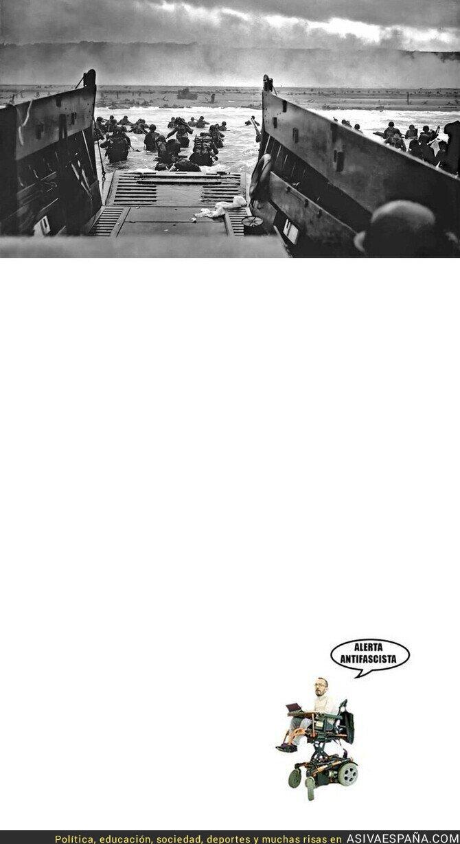 788852 - Dos formas de luchar contra el fascismo