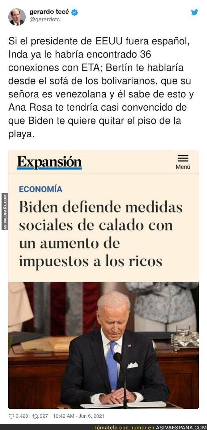 788926 - Que Biden no se atreva a pisar España...