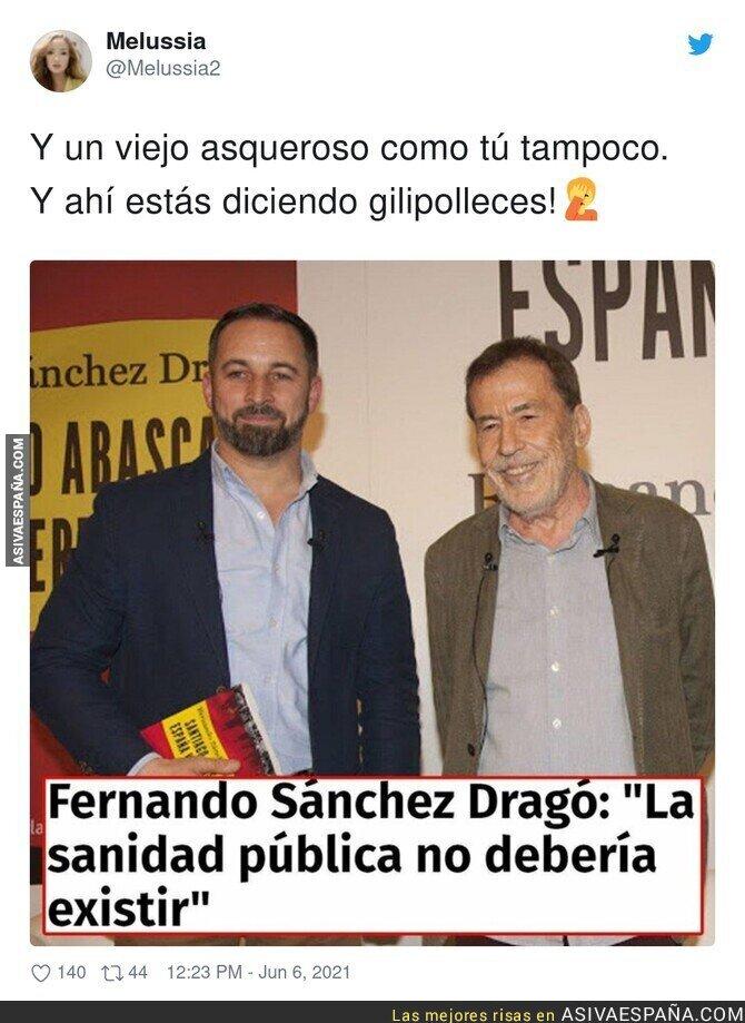 789089 - Fernando Sánchez Dragó contra la sanidad pública