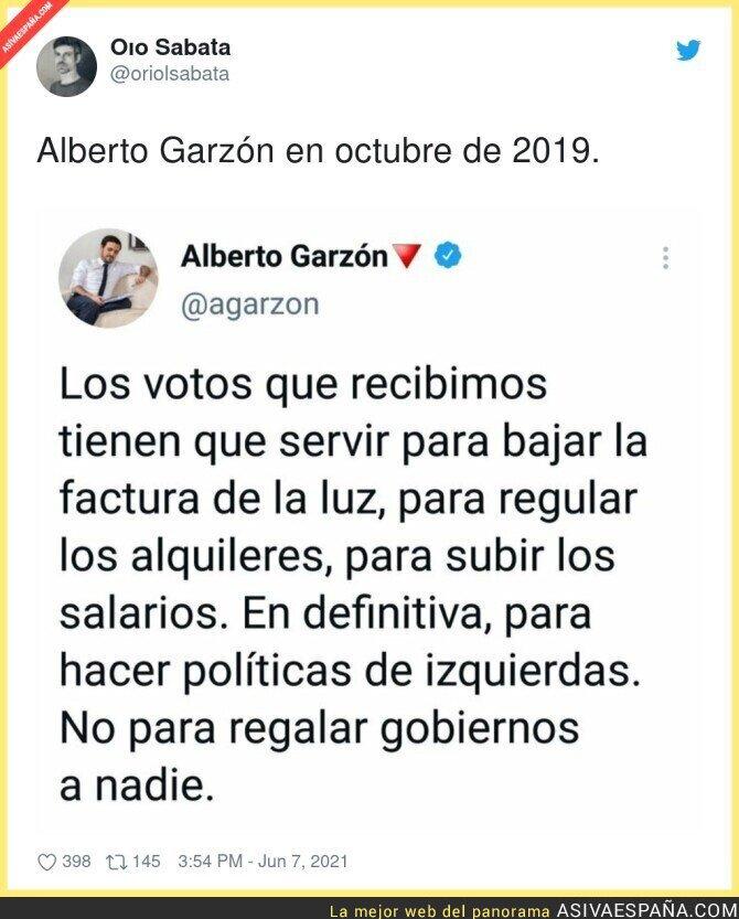 790340 - Ojalá Alberto Garzón estuviese en el Gobierno para hacer algo