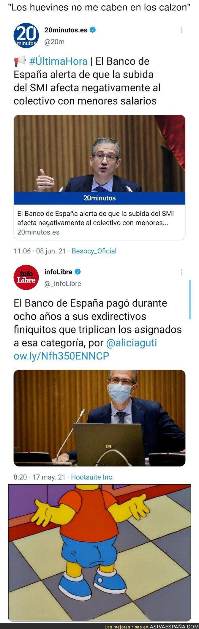 790968 - La poca vergüenza del Banco de España