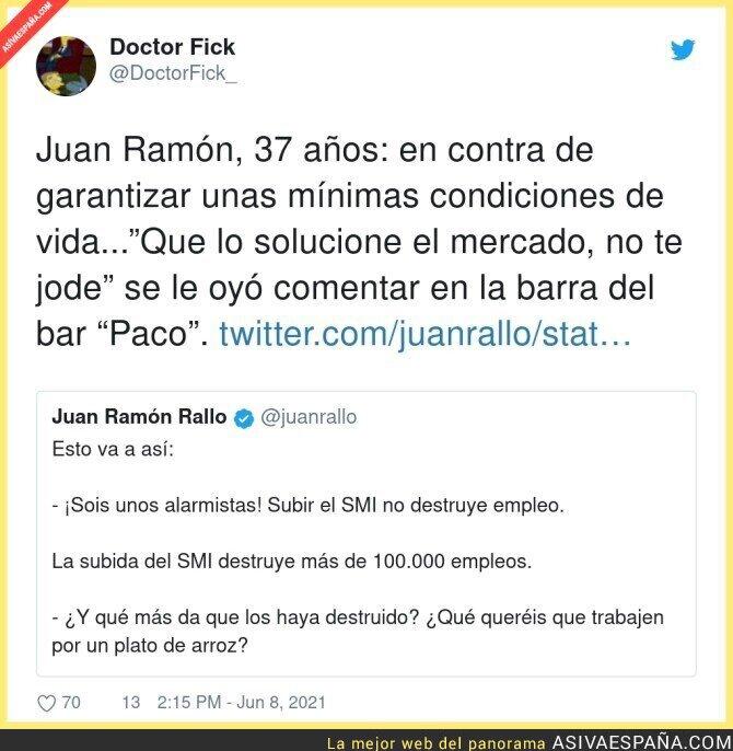791289 - El cuñado Juan Ramón Rallo en acción
