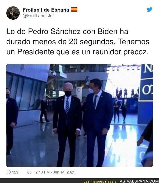 798021 - Que bien se reúne con Biden nuestro Pedro Sánchez