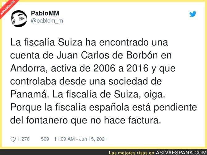 798963 - Otro escándalo más de Juan Carlos de Borbón, el fugado, que no abre portadas
