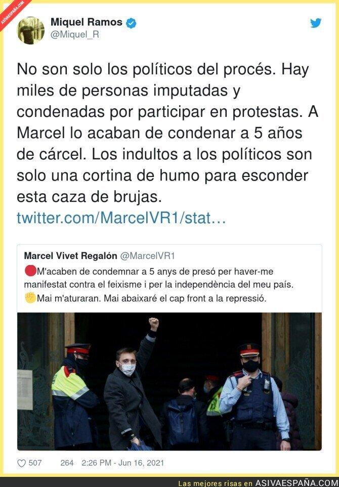 800276 - La persecución a todo el movimiento social y político en Catalunya no para