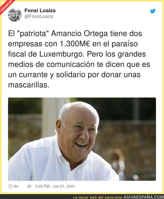 806026 - El gran patriota de Amancio Ortega