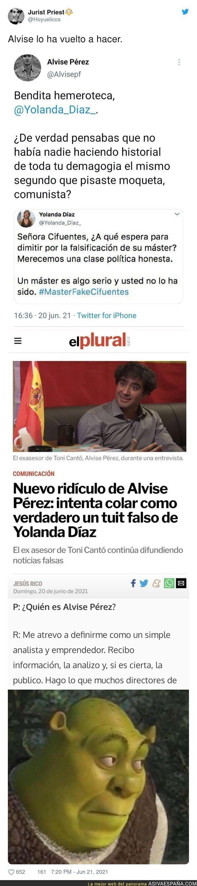 806600 - Es tremendo lo de Alvise Pérez como se cree sus propias mentiras