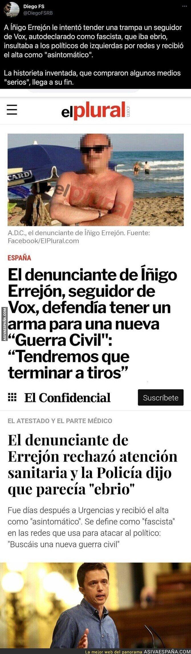 806848 - La trampa que intentaron ponerle a Íñigo Errejón y que varios medios compraron