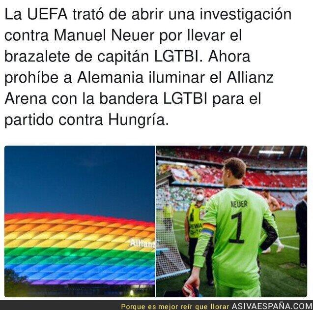 806940 - Así de lamentable es la UEFA