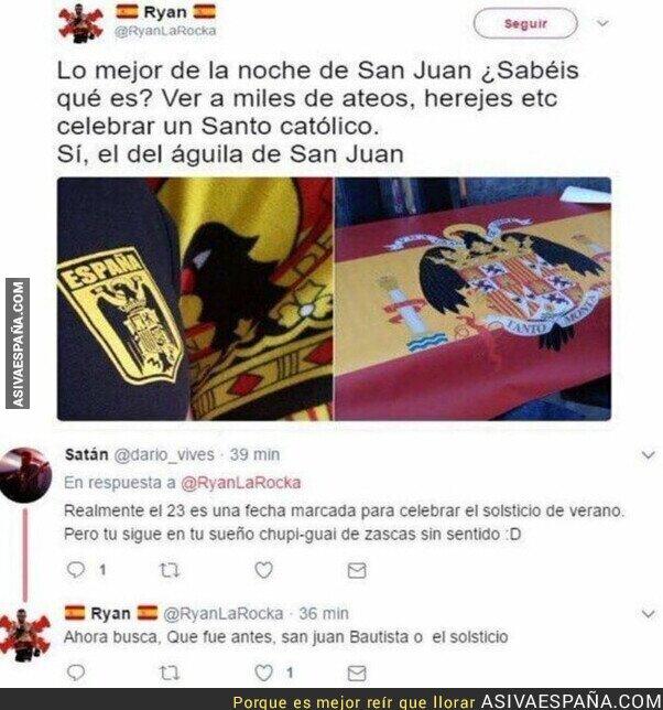 810699 - Discusión por la noche de San Juan