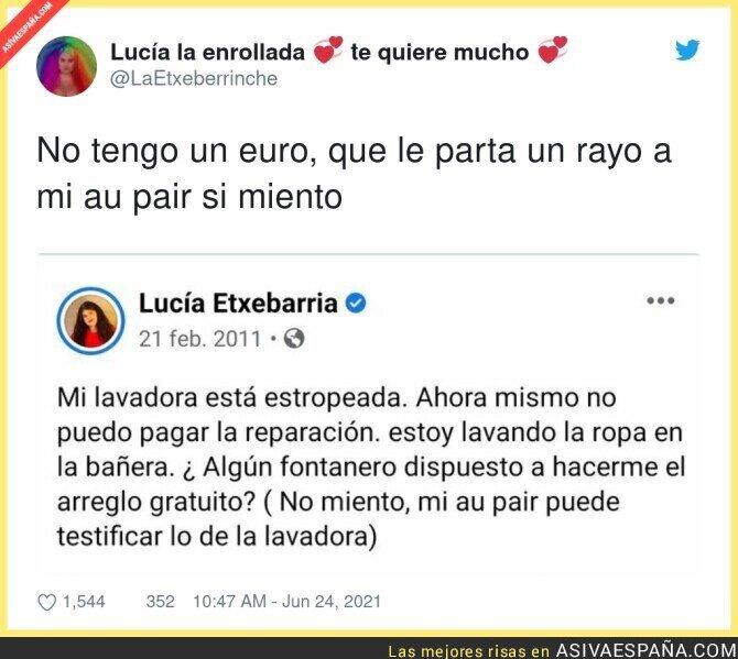 811056 - La cara más dura que tiene Lucía Etxebarria