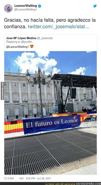 812339 - Leonor Watling agradece el apoyo