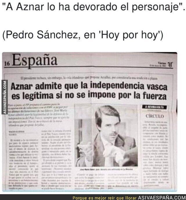 813772 - Pedro Sánchez no se equivoca sobre Aznar