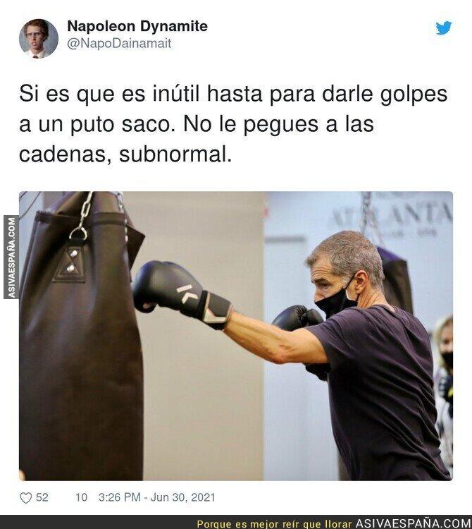 817485 - Por poco no le nombran responsable del área de deportes de Madrid