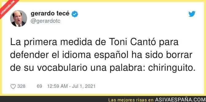 817855 - Gran trabajo de Toni Cantó