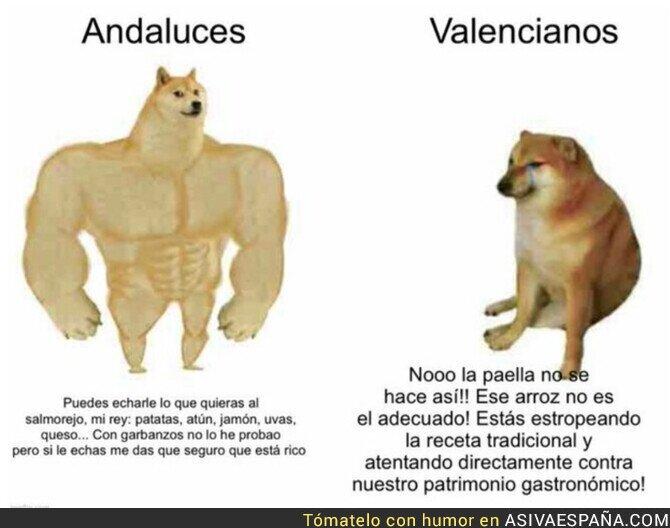 820358 - Diferencias entre andaluces y valencianos