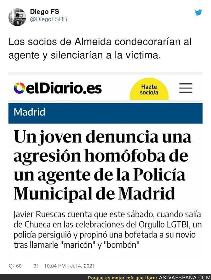 822095 - Madrid es peligrosa en las fiestas del Orgullo