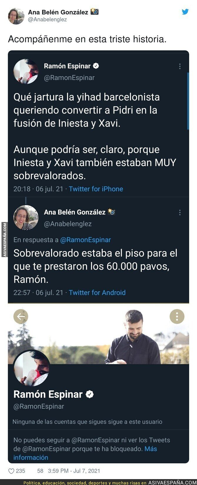 826963 - A Ramón Espinar le duelen las verdades