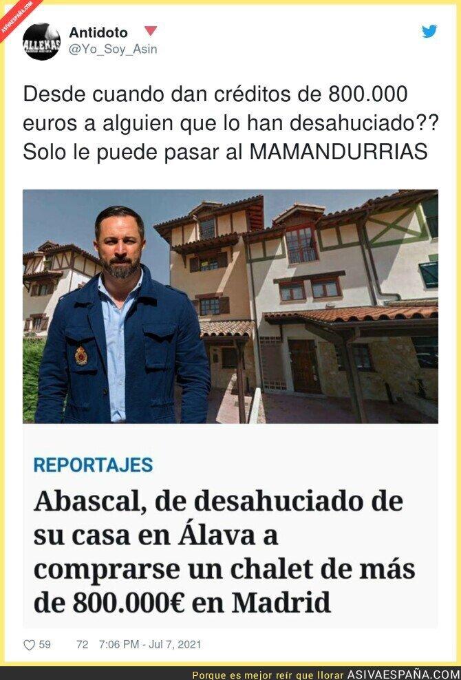 827519 - La suerte que tiene Santiago Abascal