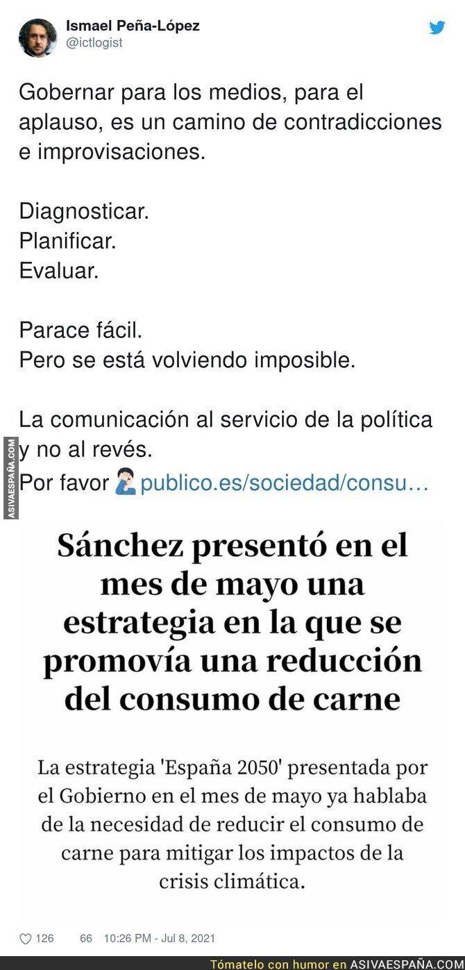 828889 - Pedro Sánchez se contradice a si mismo o no lee lo que presenta
