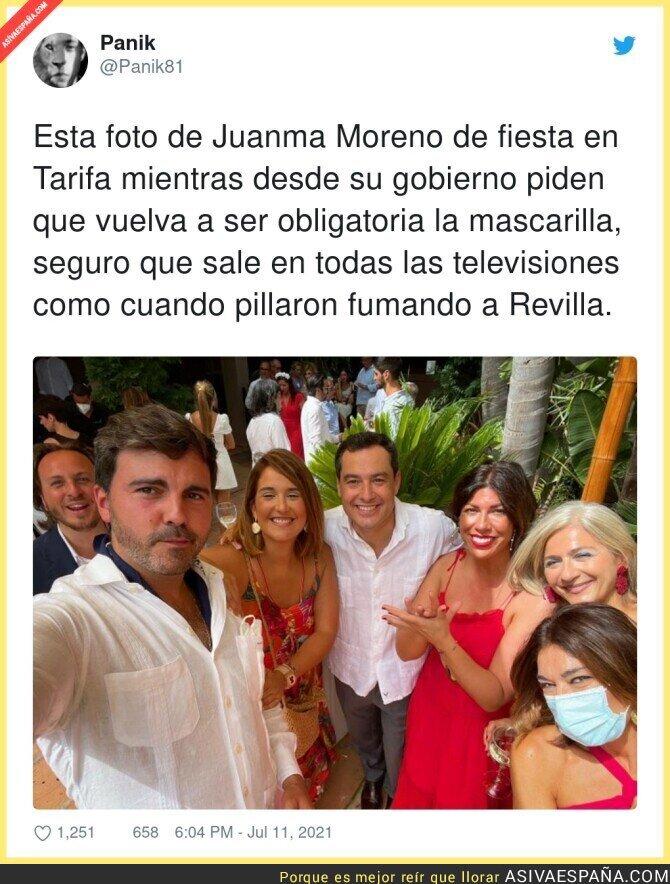 832082 - La poca vergüenza de Juanma Moreno...